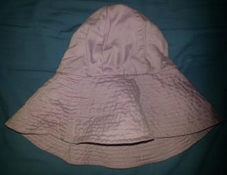 Sombrero tela malva