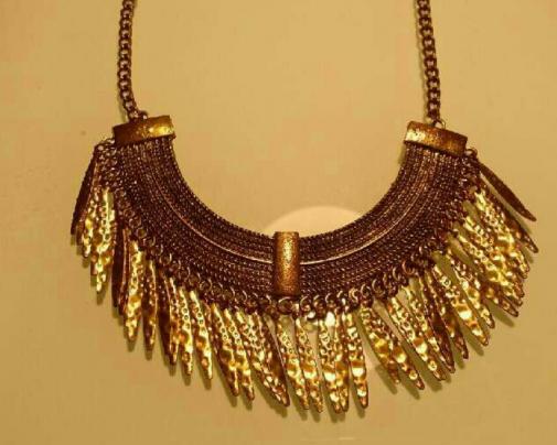 Collar Dorado Zara