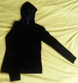 Jersey terciopelo negro