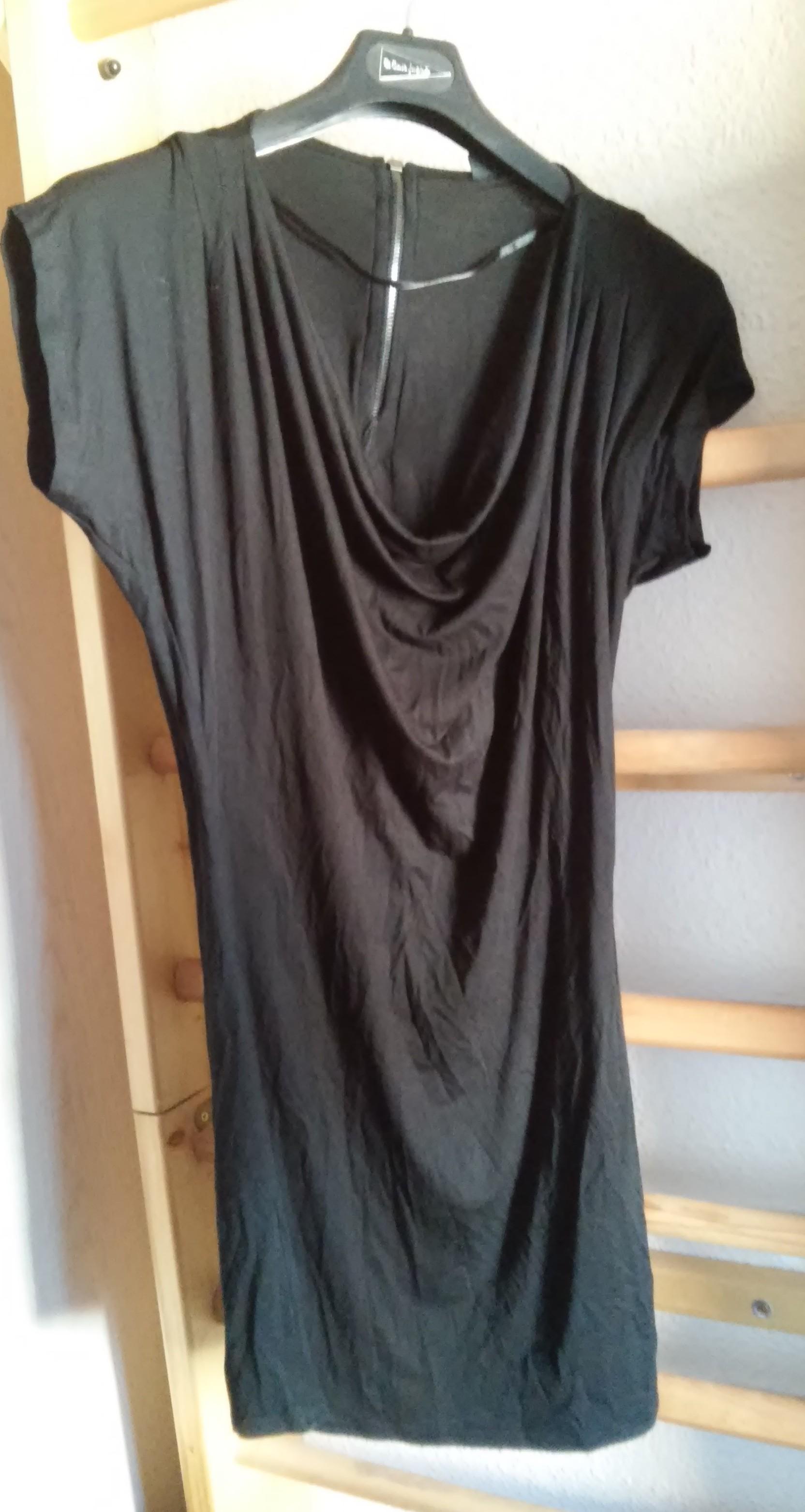 Vestido tipo blusa negro