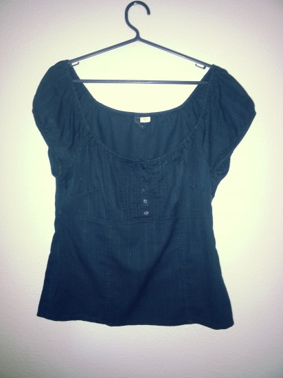 Blusa con botones de H&M
