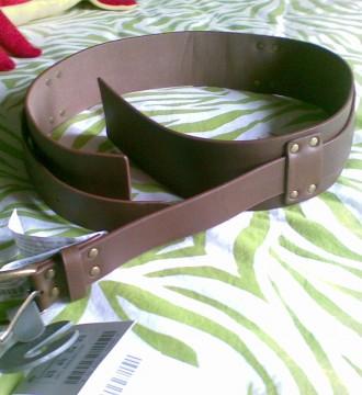Cinturón marrón sin estrenar