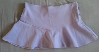 Minifalda lila