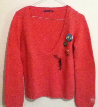 VENDO(10€)Jersey rosa de ROXY