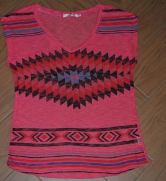 Camiseta estampado navajo