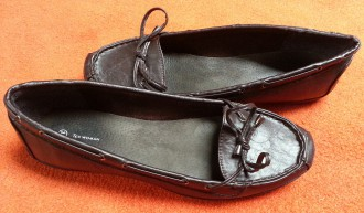 Zapatos mocasín marrón