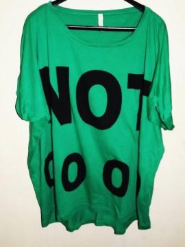 Camiseta Stradivarius «Not Good» Talla L
