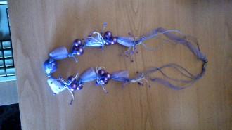 Collar tonos lilas
