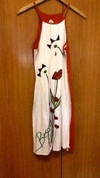Vestido de Paramitas/Campus Universidad