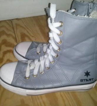 zapatillas imitación converse, altas, gris,num 36