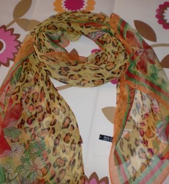Pañuelo-fulard De Leopardo
