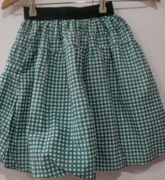 Falda cuadros Kling