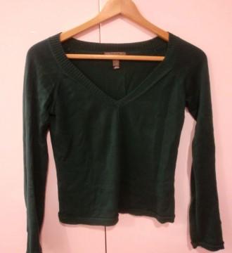 jersey de pico verde esmeralda