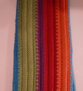Bufanda de 6 colores