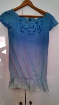 Camiseta con espalda al aire