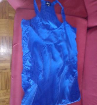 vestido azul klein de la marca blanco