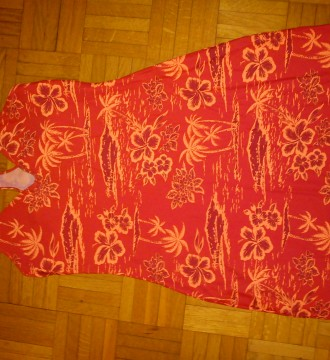 vestido hawaiano  talla única