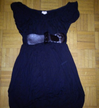 vestido negro de sfera talla s