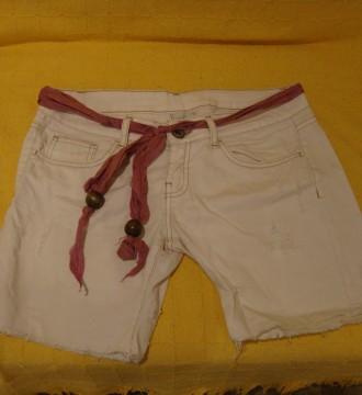 pantalón corto rosa palo