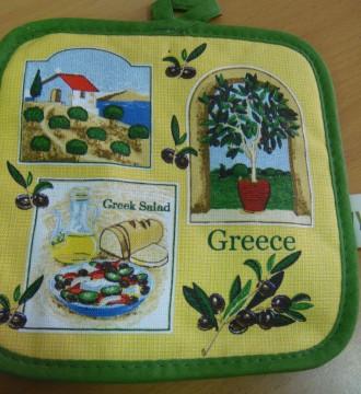 paño de cocina grecia