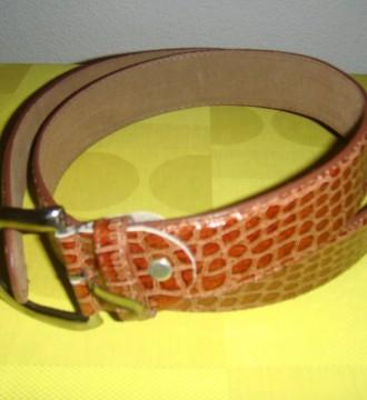 cinturon chico marrón