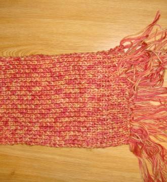 bufanda colores rojos