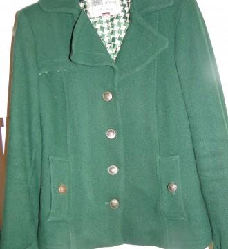 Abrigo verde talla 38 retro