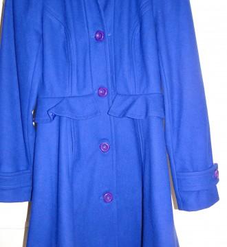 Abrigo azul Topshop talla 38