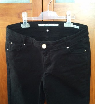 jeans negros Zara Woman