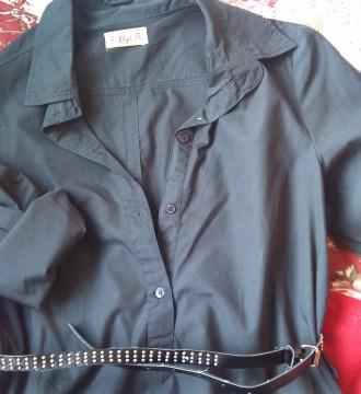 Camisola larga negra Pull&Bear