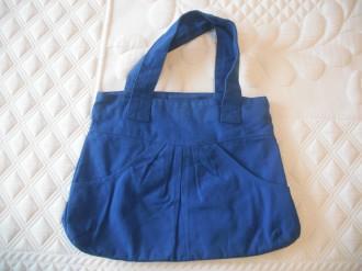 Bolso azul BLANCO