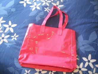 Bolso charol rosa