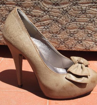 Zapatos plataforma talla 35, nuevos