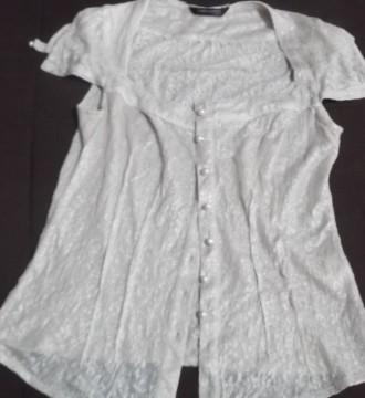 Camisa vintage de encaje comprada en Paris