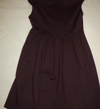Vestido de Zara color berengena talla XS