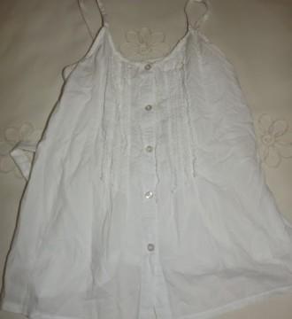 Blusa blanca talla S-M