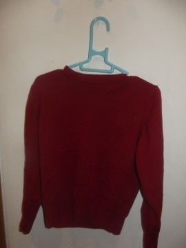 Jersey Rojo Zara Talla M