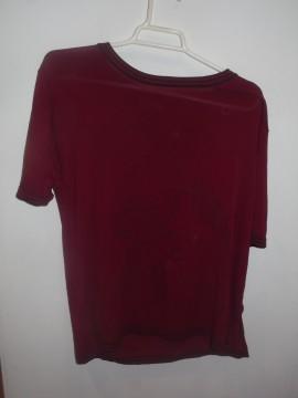 Jersey rojo manga corta T. única