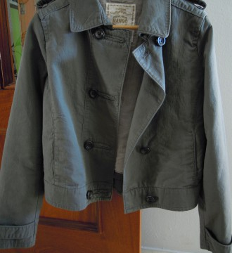 chaqueta corte militar