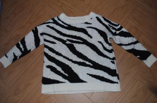 Jersey estampado zebra