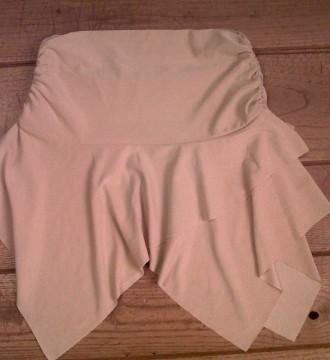 falda bies con vuelo