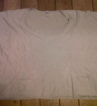 camiseta beis XXL oversice