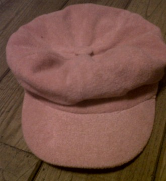 Gorra rosa chicle