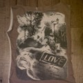 Camiseta marrón sin mangas finita