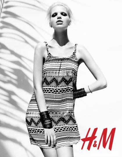 Vestido étnico H&M