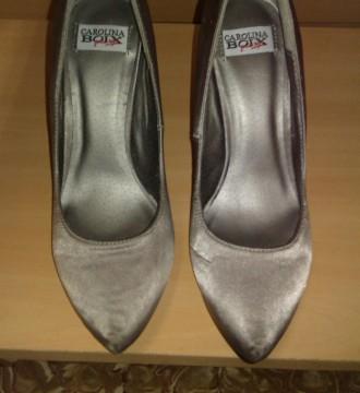 Zapatos grises Carolina Boix