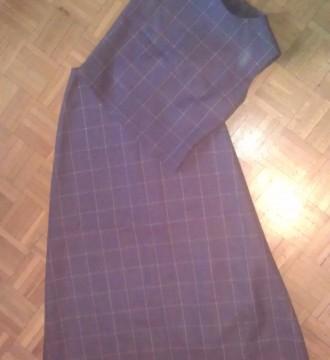 Traje de falda larga y top