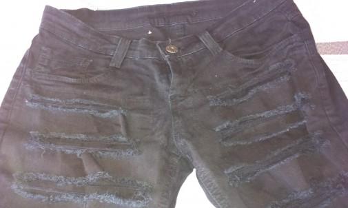 Pantalón negro Denny Rose