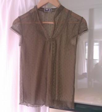 Blusa transparente de ADOLFO DOMINGUEZ