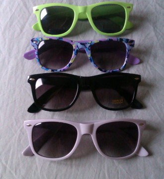 Gafas estilo Wayfar de varios colores
